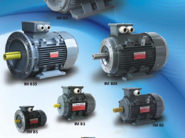 3 Fazlı Asenkron Motorlar 400V